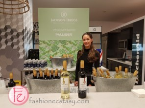 Jackson Triggs wine sampling sponsored by Palliser