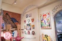 淡水秀233魚藏文化館(2館)插畫家手繪「海底世界」 (Show233 artists' mural room)
