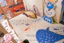 淡水秀之藝術233魚藏文化館(2館)插畫家手繪「海底世界」 (Show233 artists' mural room)