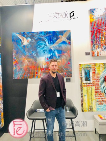 Jack D at The Artist Project 2019