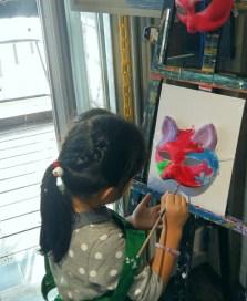 秀233(魚藏文化二館)自助畫室畫畫 (Painting at Show 233 Arts & Culture Studio)