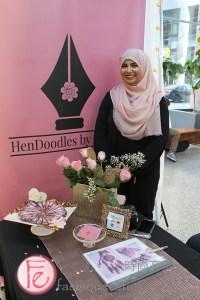 HenDoodles by Farah at Run The World 2019