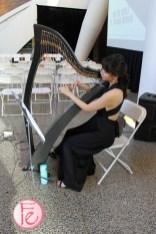 harpist at Ravinzangel at Run The World 2019 Event Fashion Show & Night Market 2019 Female Entrepreneurs & Women Empowerment