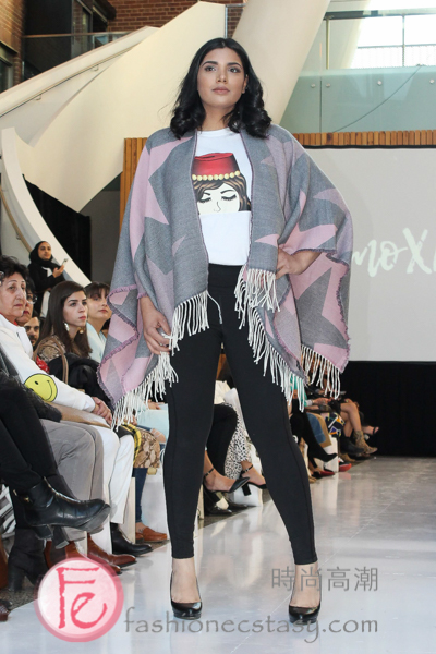 moXrano Cape at Annual Run The World 2019 Fashion Show & Night Market 2019 Female Entrepreneurs & Women Empowerment