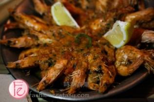 """克羅埃西亞式鮮蝦鍋 / """"Skampi Na Buzara"""" Croatian Shrimp:"""