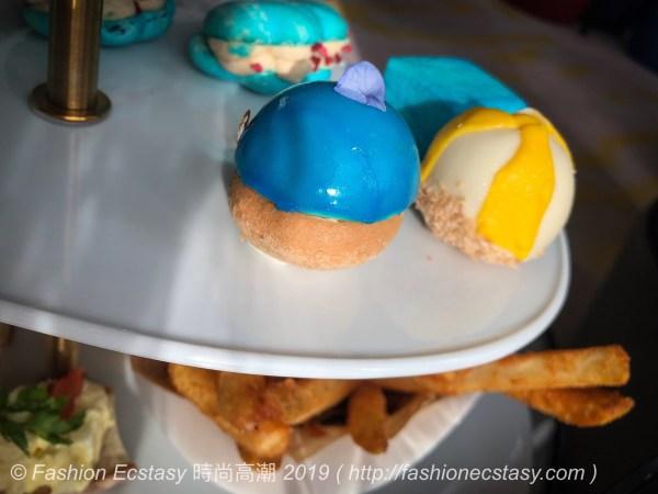 """「海洋寶石 - 檸檬慕斯黑糖香堤」 / """"Blue Tesseract - Mango Pineapple Cotton Candy"""":"""