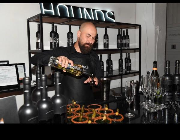 Hounds Black Vodka at NKPR's Annual IT House x Producers Ball media day TIFF19 Toronto International Festival 2019