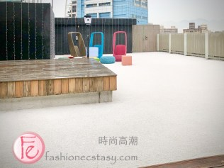 Polar Cafe 西門旗艦店戶外座位 / Polst Cafe Ximen flagship store rooftop patio
