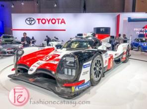 Toyota TS050 Hybrid race car