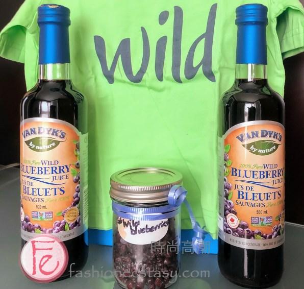 Van Dyk's 100% Pure Wild Blueberry Juice