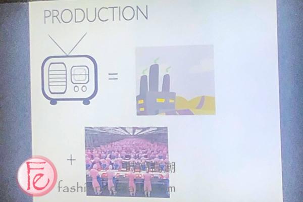 the non-eco-friendly production of a radioradio