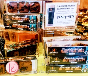 Stratford Chocolate Trail 2020 - Rheo Thompson Candies' chocolate covered beer marshmallows