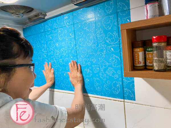 佳安心抗菌萬用懶人無膠DIY藝術壁貼 / AGL fire, grease and stain resistant DIY wallpaper