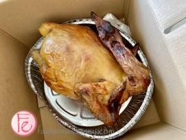 Osmanthus urn-roast chicken