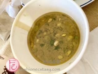 中南海桂花雞熱炒甕仔桂花雞另附的雞油 / Seperate bowl of chicken fat (oil)