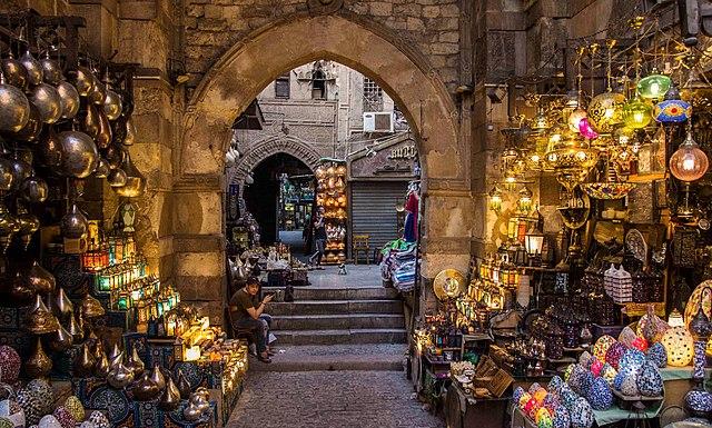 travel cairo, Egpyt Khan al-Khalili Bazaar