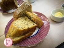 """安唐帝諾義式餐廳「伯爵茶手工麵包」/ Andantino Italian Restaurant's """"Earl Grey handmade bread"""