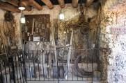 Edward Leedskalnin's Tool Room at Coral Castle, Homestead, Florida