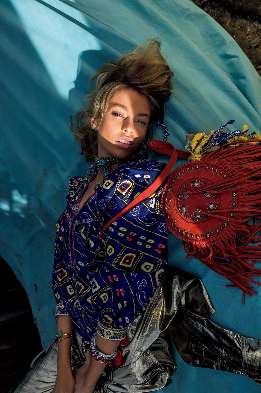 Vogue Japan July 2016 Stella Maxwell by Gilles Bensimon-3