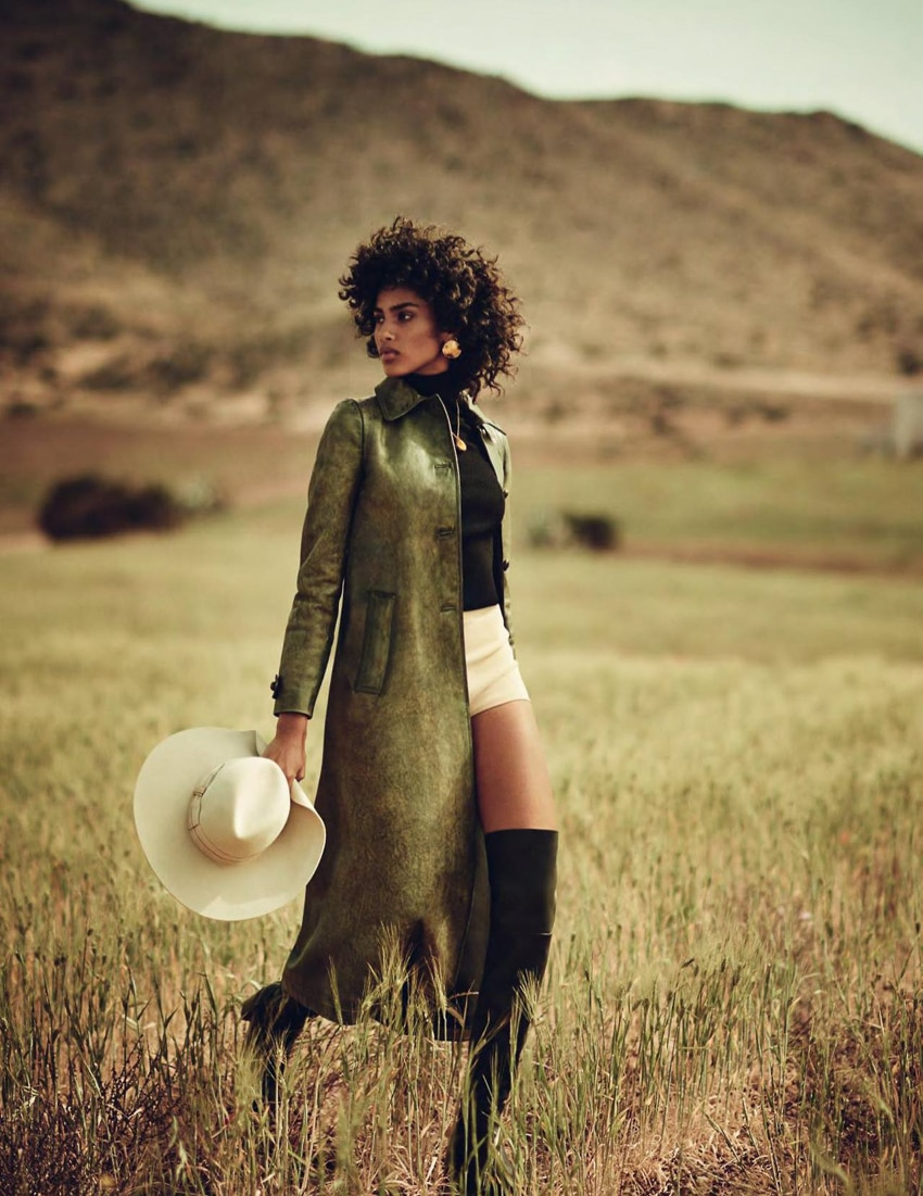 Vogue Spain July 2017 Imaan Hammam By Boo George Fashion Editorials
