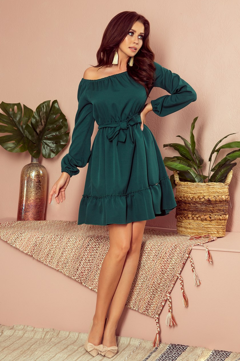 casual green big -