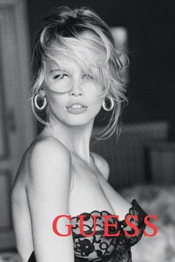 Claudia Schiffer  Guess