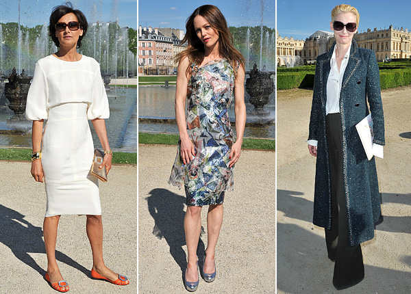 Chanel 2012/2013 Cruise collection Ines de la Fressange Vanessa Paradis Tilda Swinton