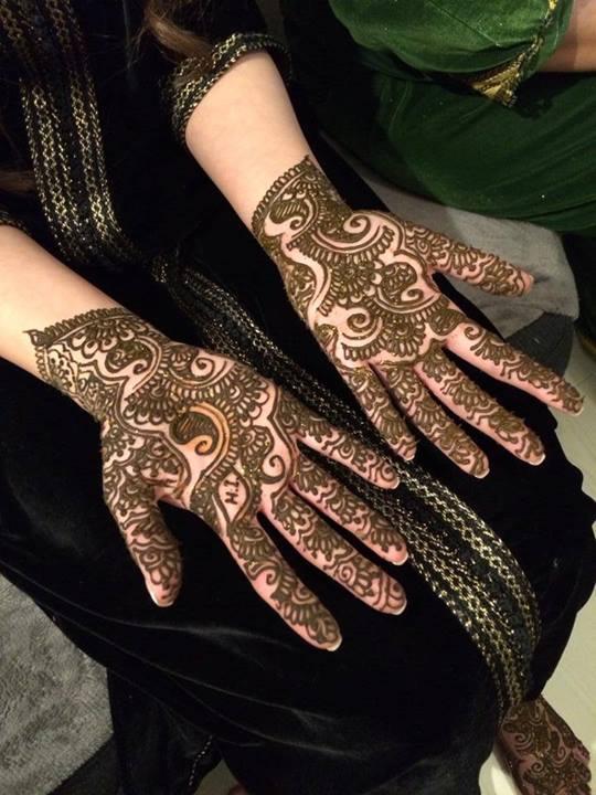Arabic Mehndi Design 2019 Front Hand