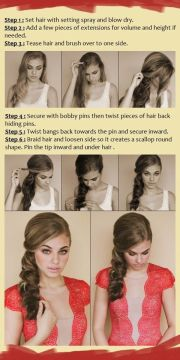 party hairstyle tutorials