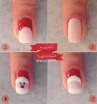 Easy Christmas Nail Designs Tutorials 2017 Step By Step ...