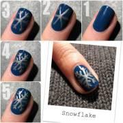 easy christmas nail design tutorials