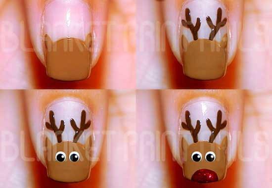 Christmas Nail Art Best Tutorial