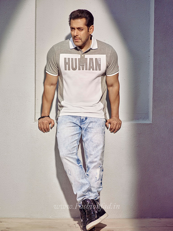 Being Human SS17 with Salman Khan and Amy Jackson  Fashionfad