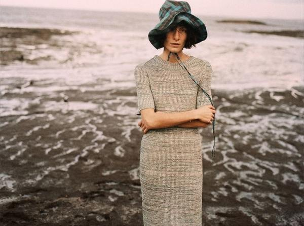 knitGrandeur: The Textured, Long Knit Dress