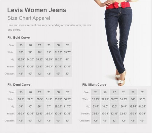 The Jean Size Chart Need To Know Fashion Feel Info