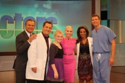 Former Miss Delaware Kayla Martell on the Doctors Show, styled by Christie Maruka