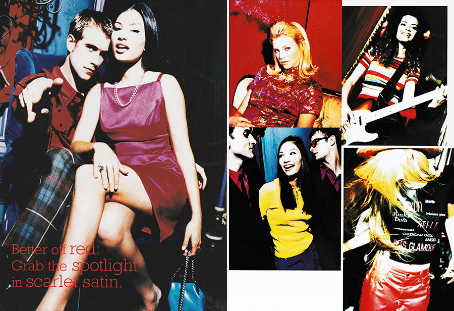 Image result for 90s fashion collage