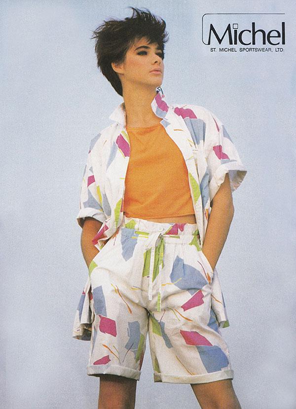 Fashion Summer 80s Men