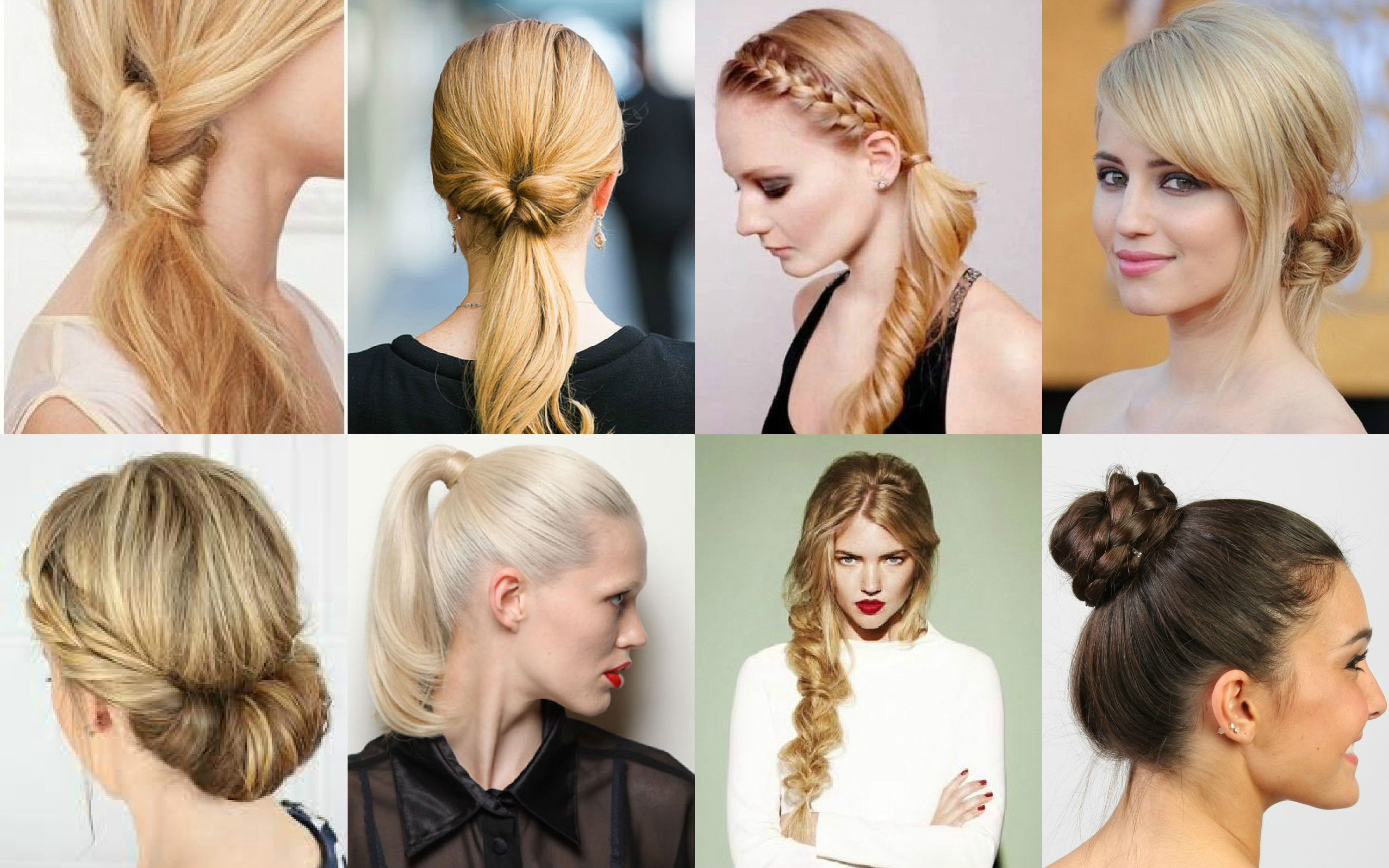 Eight Easy And Effective Diy Hairstyles  Fashionforroyals
