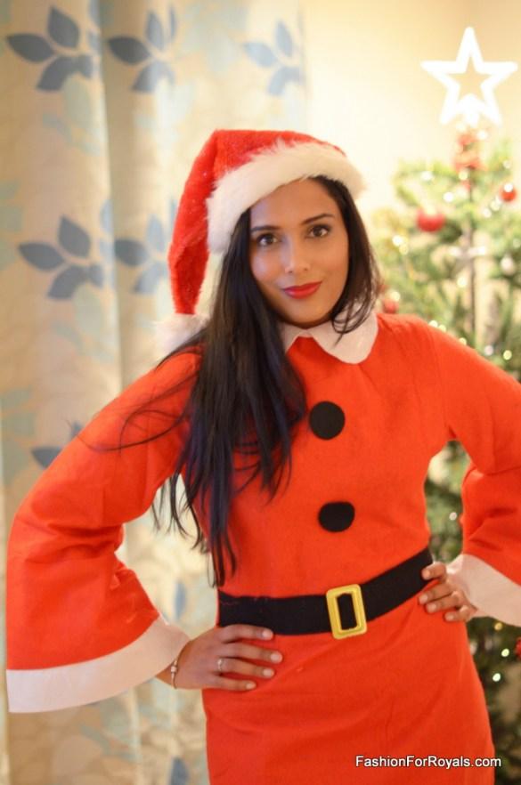 Miss Santa Christmas Fancy Dress