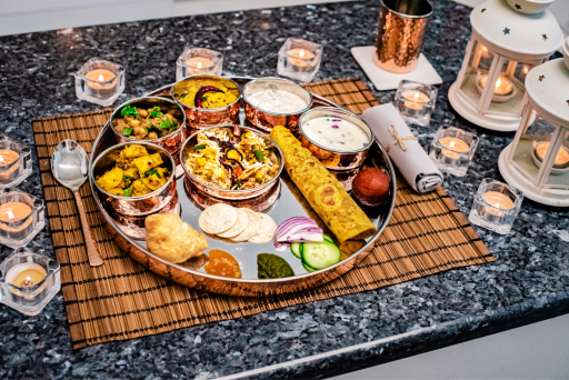 grand Diwali thali