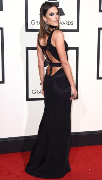 Alessandra Ambrosio, Grammy Awards 2016.