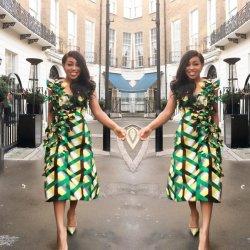 african styles church dress ladies dominic rita ankara west print worship ghana rock stylish fgstyle otedola folawiyo lisa temi wore