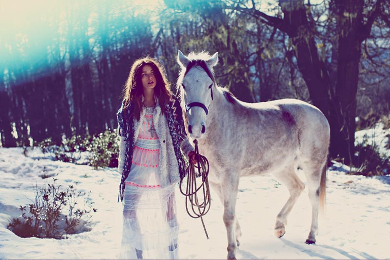 fp fairy13 Anais Pouliot and Andreea Diaconu Star in Free Peoples Fairytale Inspired November Catalogue