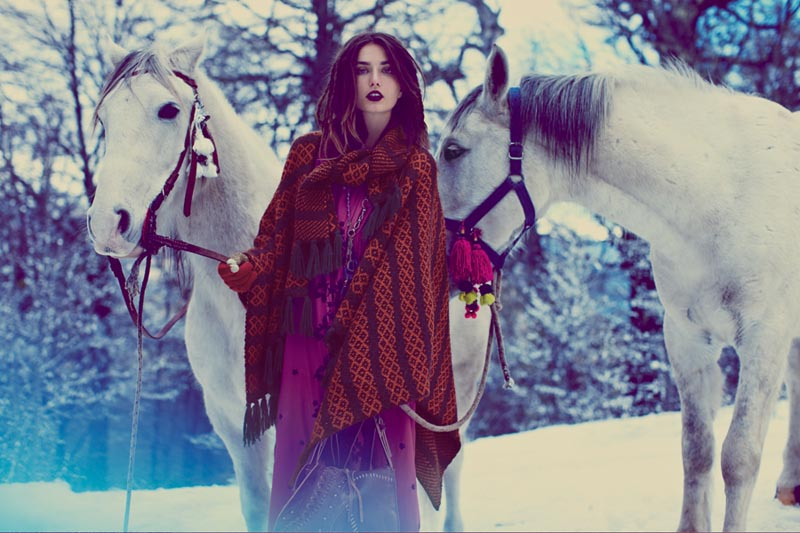 fp fairy15 Anais Pouliot and Andreea Diaconu Star in Free Peoples Fairytale Inspired November Catalogue