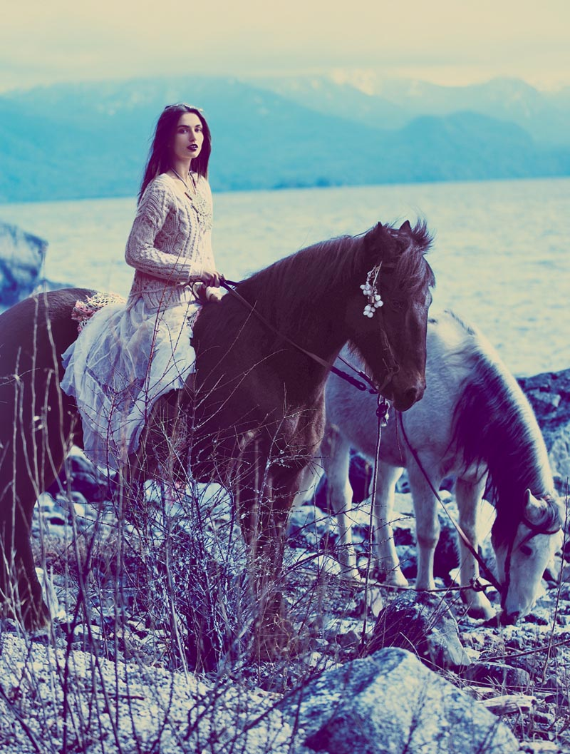 fp fairy17 Anais Pouliot and Andreea Diaconu Star in Free Peoples Fairytale Inspired November Catalogue