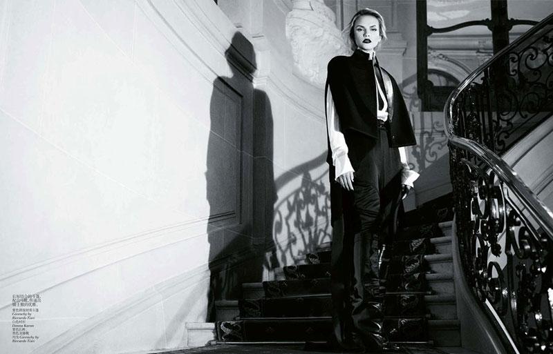 Наташа willy5 Наташа Поли является Очаровательные в Vogue China ноябрь 2012 Вилли Вандерпер