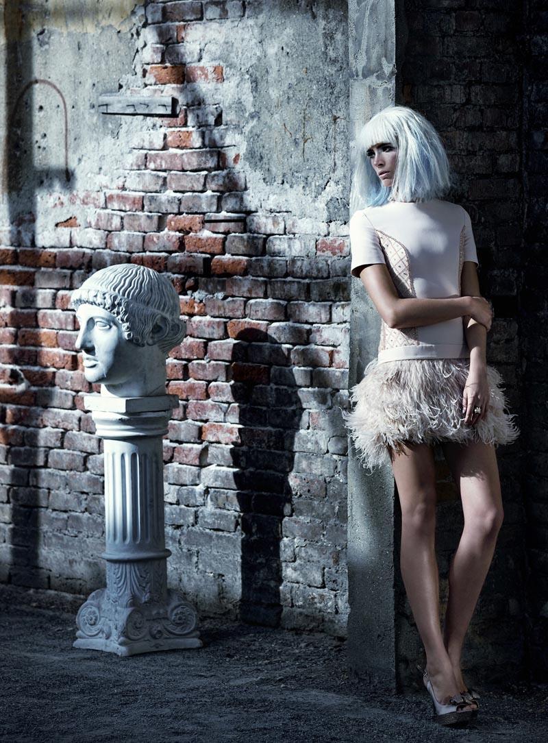 rose14 Koray Парлак Побеги Гламур с краю для Elele Magazine Ноябрь 2012