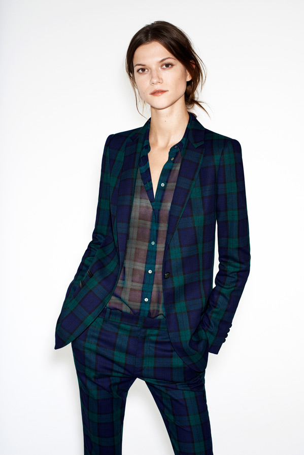zara10 Kasia Struss Models Zaras December 2012 Lookbook