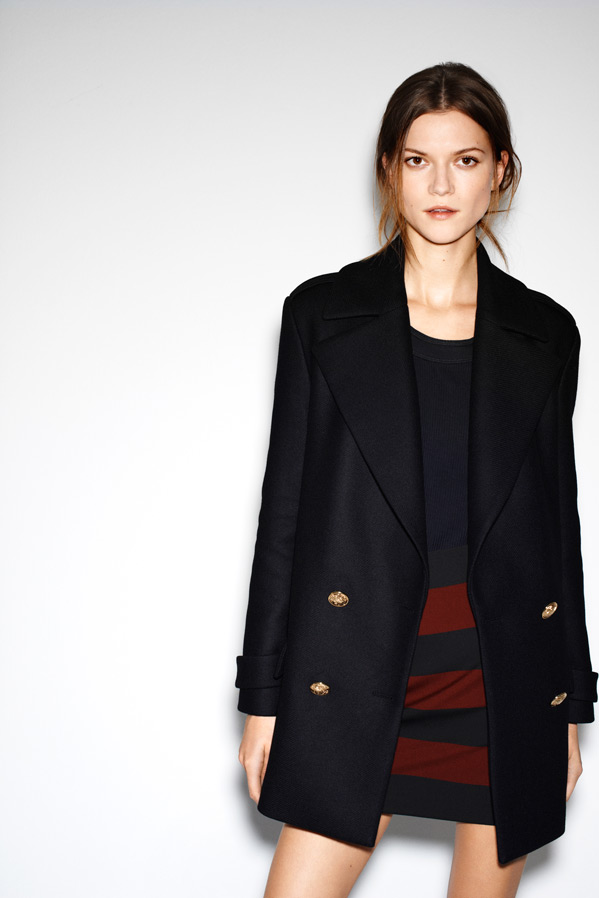 zara15 Kasia Struss Models Zaras December 2012 Lookbook